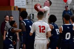 CIAC Boys Basketball; Wolcott vs. Ansonia - Photo # (306)