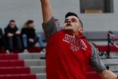 CIAC Boys Basketball; Wolcott vs. Ansonia, Pregame - Photo # (53)