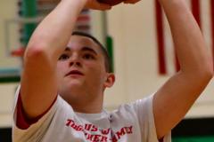 CIAC Boys Basketball; Torrington vs. Wolcott, Pregame - Photo # (12)
