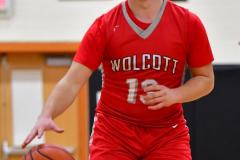 CIAC Boys Basketball; Watertown 63 vs. Wolcott 73 - Photo # 226