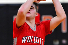 CIAC Boys Basketball; Watertown 63 vs. Wolcott 73 - Photo # 393
