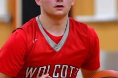 CIAC Boys Basketball; Watertown 63 vs. Wolcott 73 - Photo # 396