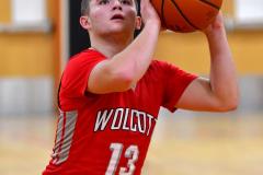 CIAC Boys Basketball; Watertown 63 vs. Wolcott 73 - Photo # 397