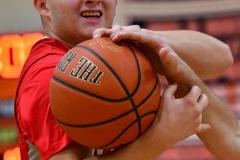 CIAC Boys Basketball; Watertown 63 vs. Wolcott 73 - Photo # 504