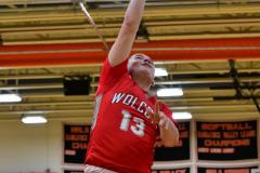 CIAC Boys Basketball; Watertown 63 vs. Wolcott 73 - Photo # 518