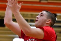 CIAC Boys Basketball; Watertown 63 vs. Wolcott 73 - Photo # 531