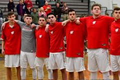 CIAC Boys Basketball; Wolcott 47 vs. Greenwich 76 - Photo # 133