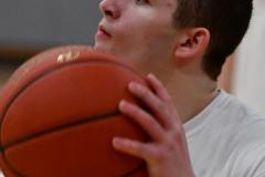 CIAC Boys Basketball; Wolcott 69 vs. East Hampton 63 - Photo # 014
