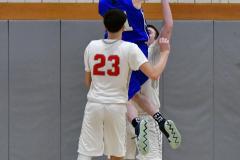 CIAC Boys Basketball; Wolcott 69 vs. East Hampton 63 - Photo # 1010
