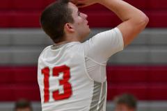 CIAC Boys Basketball; Wolcott 69 vs. East Hampton 63 - Photo # 671