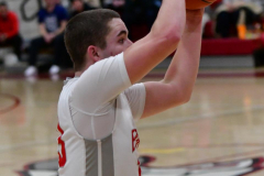 CIAC Boys Basketball; Wolcott 69 vs. East Hampton 63 - Photo # 756