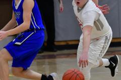 CIAC Boys Basketball; Wolcott 69 vs. East Hampton 63 - Photo # 987