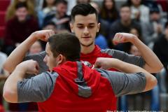 CIAC Boys Basketball; Wolcott 81 vs. Oxford 74 - Photo # 145