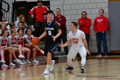 CIAC Boys Basketball; Wolcott 81 vs. Oxford 74 - Photo # 419