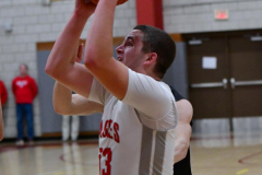 CIAC Boys Basketball; Wolcott 81 vs. Oxford 74 - Photo # 425