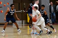 CIAC Boys Basketball; Wolcott vs. Ansonia - Photo # (205)