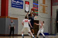 CIAC Boys Basketball; Wolcott vs. Ansonia - Photo # (332)