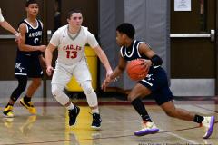 CIAC Boys Basketball; Wolcott vs. Ansonia - Photo # (836)