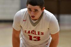 CIAC Boys Basketball; Wolcott vs. Ansonia - Photo # (870)