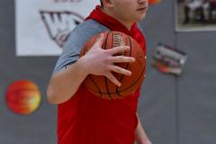 CIAC Boys Basketball; Wolcott vs. Ansonia, Pregame - Photo # (170)