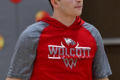 CIAC Boys Basketball; Wolcott vs. Ansonia, Pregame - Photo # (182)