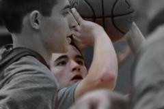 CIAC Boys Basketball; Wolcott vs. Derby, Pregame - Photo # (133)