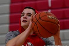 CIAC Boys Basketball; Wolcott vs. Derby, Pregame - Photo # (216)