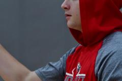 CIAC Boys Basketball; Wolcott vs. Derby, Pregame - Photo # (46)