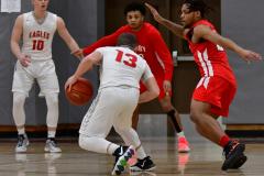 Gallery CIAC Boys Basketball; Wolcott vs. Derby - Photo # 425