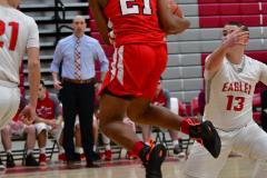 Gallery CIAC Boys Basketball; Wolcott vs. Derby - Photo # 437