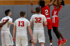 Gallery CIAC Boys Basketball; Wolcott vs. Derby - Photo # 592