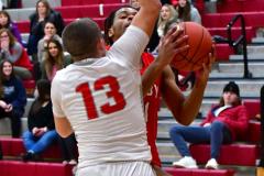 Gallery CIAC Boys Basketball; Wolcott vs. Derby - Photo # 599