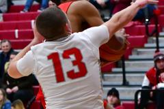 Gallery CIAC Boys Basketball; Wolcott vs. Derby - Photo # 601