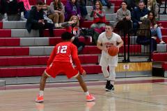 Gallery CIAC Boys Basketball; Wolcott vs. Derby - Photo # 623