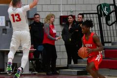 Gallery CIAC Boys Basketball; Wolcott vs. Derby - Photo # 918