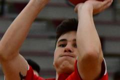 CIAC Boys Basketball; Wolcott 47 vs. Greenwich 76 - Photo # 031