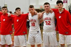 CIAC Boys Basketball; Wolcott 47 vs. Greenwich 76 - Photo # 137
