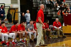 CIAC Boys Basketball; Wolcott 47 vs. Greenwich 76 - Photo # 179