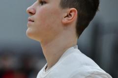 CIAC Boys Basketball; Wolcott 69 vs. East Hampton 63 - Photo # 024