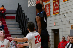 CIAC Boys Basketball; Wolcott 81 vs. Oxford 74 - Photo # 362