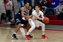 CIAC Boys Basketball; Wolcott vs. Ansonia - Photo # (183)