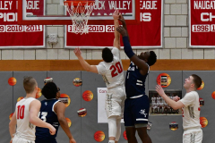 CIAC Boys Basketball; Wolcott vs. Ansonia - Photo # (221)