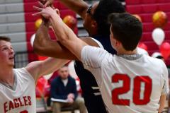 CIAC Boys Basketball; Wolcott vs. Ansonia - Photo # (248)