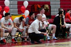 CIAC Boys Basketball; Wolcott vs. Ansonia - Photo # (381)