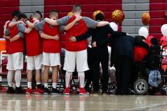 CIAC Boys Basketball; Wolcott vs. Ansonia - Photo # (42)