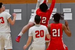 Gallery CIAC Boys Basketball; Wolcott vs. Derby - Photo # 579