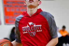 CIAC Boys Basketball; Watertown 63 vs. Wolcott 73 - Photo # 004