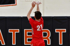 CIAC Boys Basketball; Watertown 63 vs. Wolcott 73 - Photo # 314