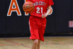 CIAC Boys Basketball; Watertown 63 vs. Wolcott 73 - Photo # 321