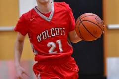CIAC Boys Basketball; Watertown 63 vs. Wolcott 73 - Photo # 333